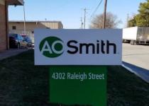 AO Smith Monument Sign