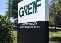 Greif, Inc. of Charlotte - New Sign Panels