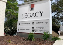 Legacy Offices -- Custom Monument Sign