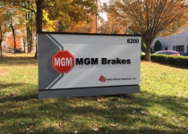 MGM Brakes Exterior Sign