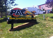 PAC Racing Monument Sign - Mooresville, NC