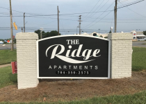The Ridge Apartments - Monument Sign
