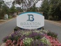 New Face for existing Monument - Braxton at Lake Norman