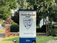 Charlotte Montessori School – Monument Sign (Aluminum Construction)