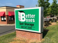 Better Boxes Monument Sign