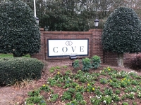 Cove at Matthews - New Panel for existing Brick Monument