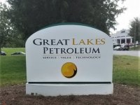Monument Sign for Great Lakes Petroleum