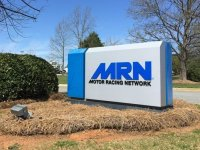 Motor Racing Network of Concord, NC -- New Panels for existing Monument Sign