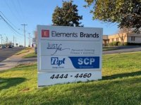 New Panels for EXISTING Monument Sign -- Elements Brands