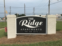 The Ridge Apartments - Monument Sign