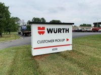 Wurth of Charlotte -- Monument Sign