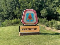 United Brotherhood of Carpenters - Monument Sign with Brick Base &  LED Message Board