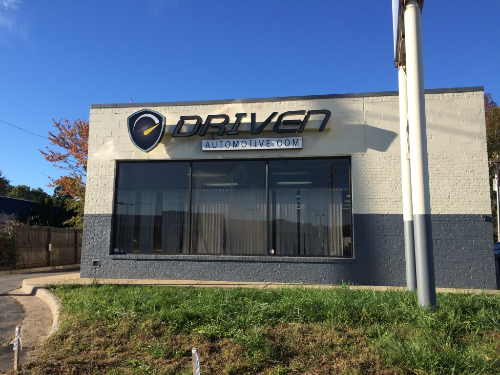 Building Exterior: New Exterior Building Signs Completed For Driven