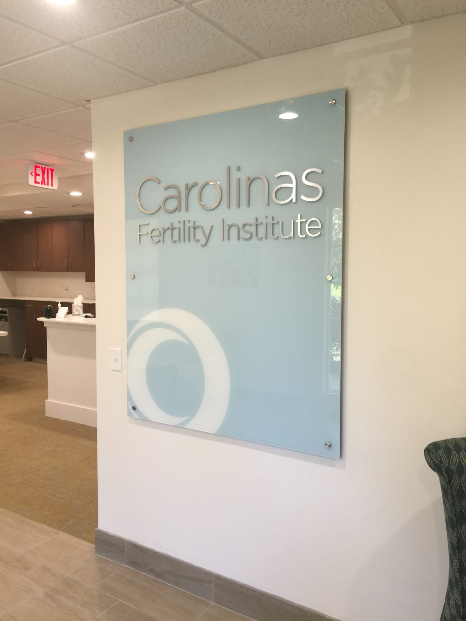 interior sign, office sign, feature wall sign, lobby signs, signs charlotte