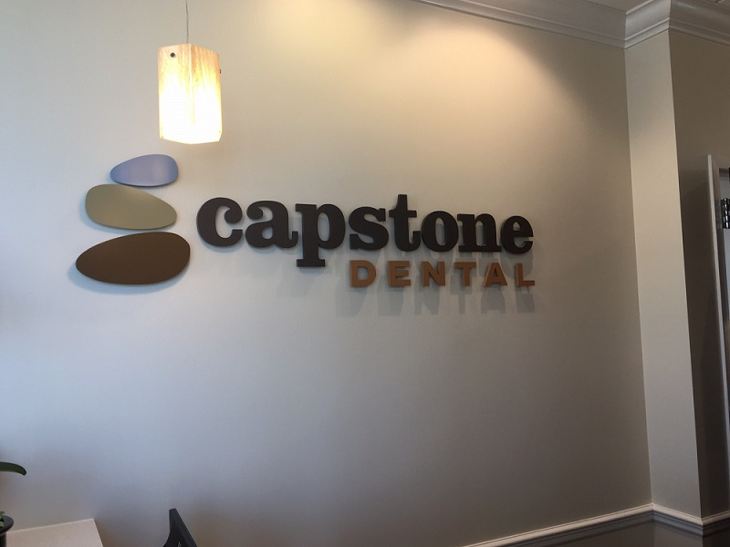 lobby signs, signs charlotte, logo signs, custom signs, dimensional letters, wall signs, business signs,