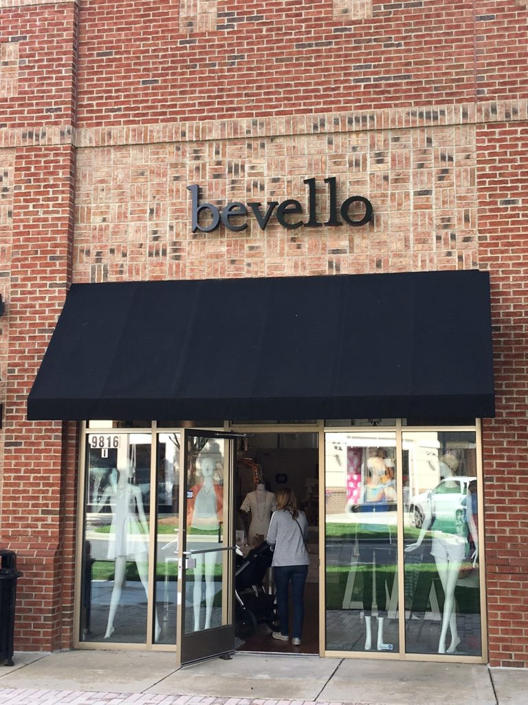 Exterior signage for bevello of charlotte by jc signs for Exterior signage design