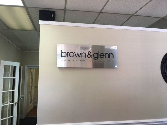 office signs, interior signs, indoor signs, lobby signs, signs charlotte, signs nc, custom signs, backerplates, sintra material, business signs, logo signs,