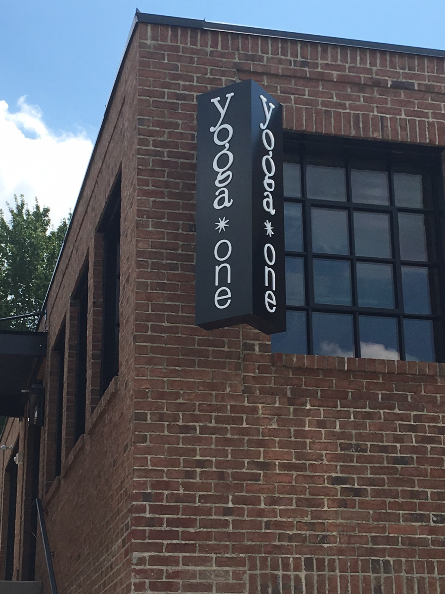Exterior Signage For Yoga One Of Charlotte By Jc Signs Jc Signs Charlotte