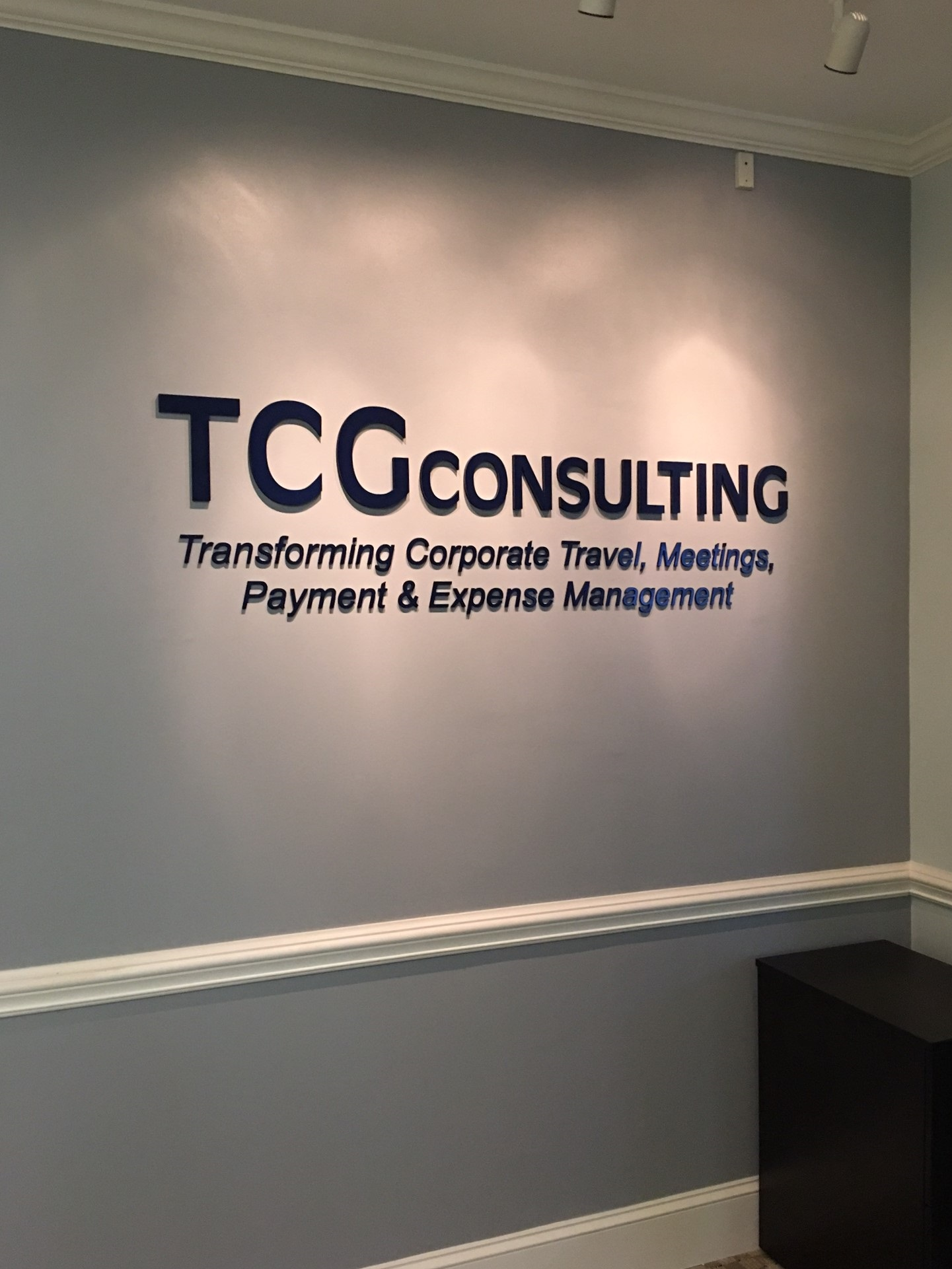 Check Out This Interior Signage For Tcg Consulting Of