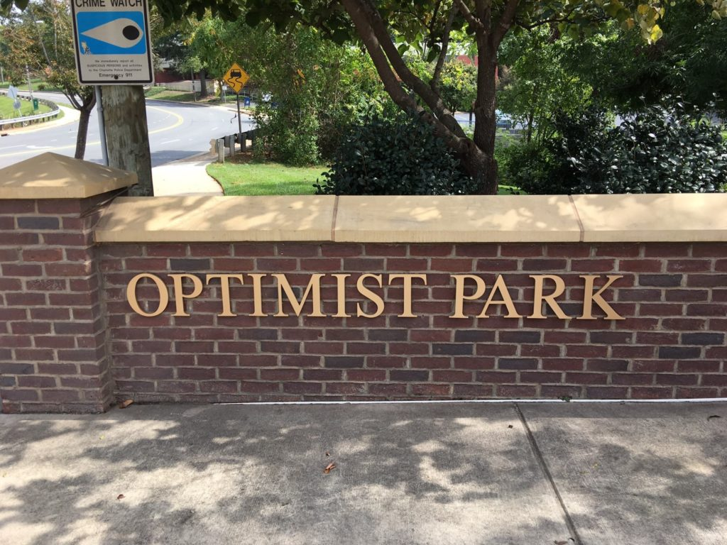 individual letters, brass signs, brass signage, custom signs, signs charlotte, signs nc, outdoor signs, wayfinding signs, directional signs,