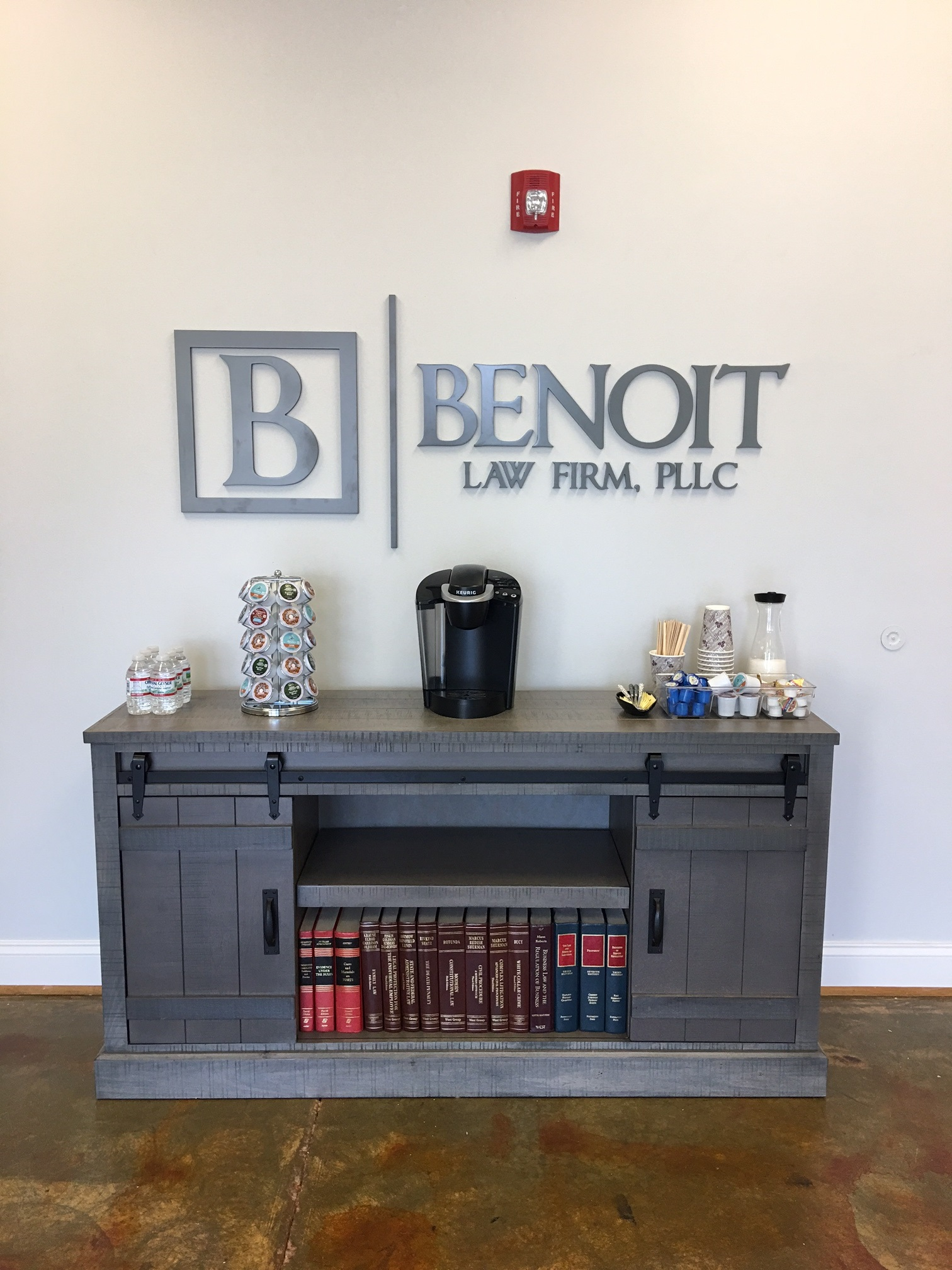 A complete sign package for benoit law firm of charlotte - Interior design firms charlotte nc ...