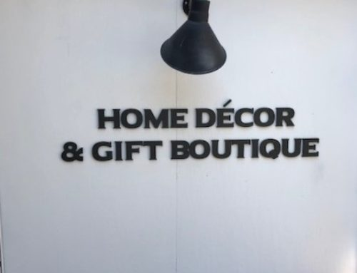 Check out this Logo Sign for Home Decor & Gift Boutique of Charlotte!