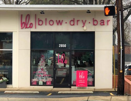 Blow Dry Bar Signage!
