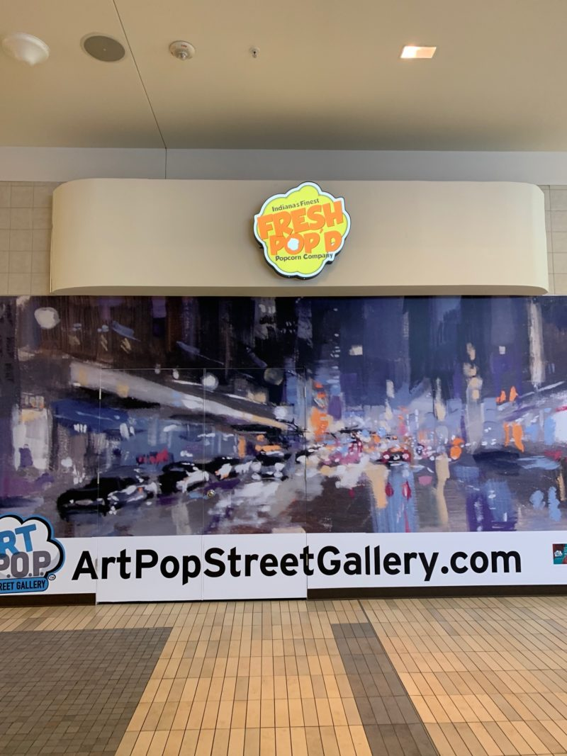 Fresh Pop'd - Mall Storefront Sign