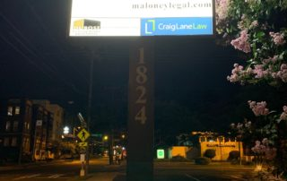 New LED Lights in existing Pole/Cabinet Sign