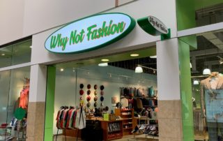 Interior Mall Store Signage
