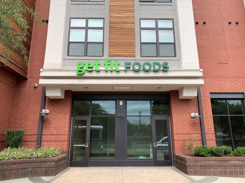 Get Fit Foods - Exterior Signage