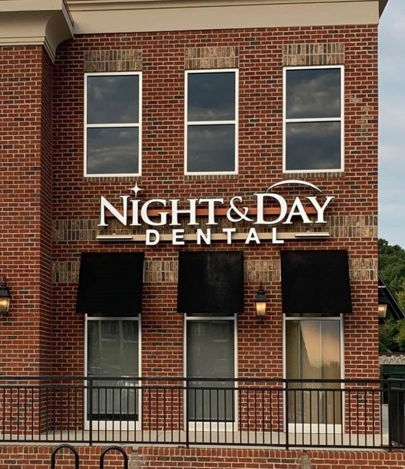 Custom Signage for Night & Day Dental