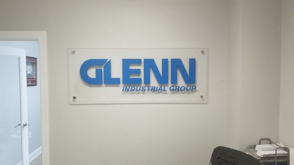 Glenn Industrial Group – Company/Office Signage