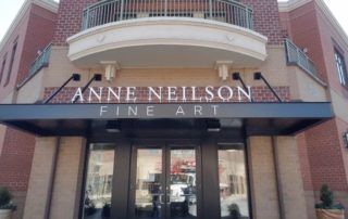 Anne Nielson Fine Art Sign - Aluminum Letters
