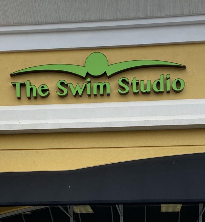 Channel Letter Sign for The Swim Studio