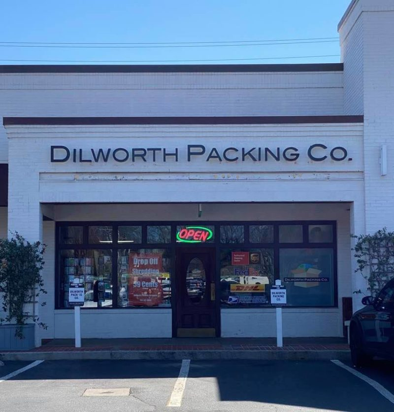 Dilworth Packing Company Sign