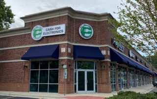 Exterior Signage for PayMore of Gastonia