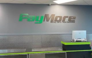 Paymore of Gastonia - Interior Sign