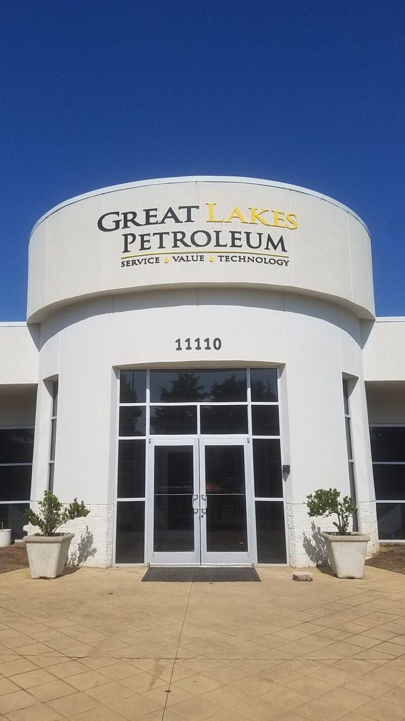 Great Lakes Petroleum Building Sign