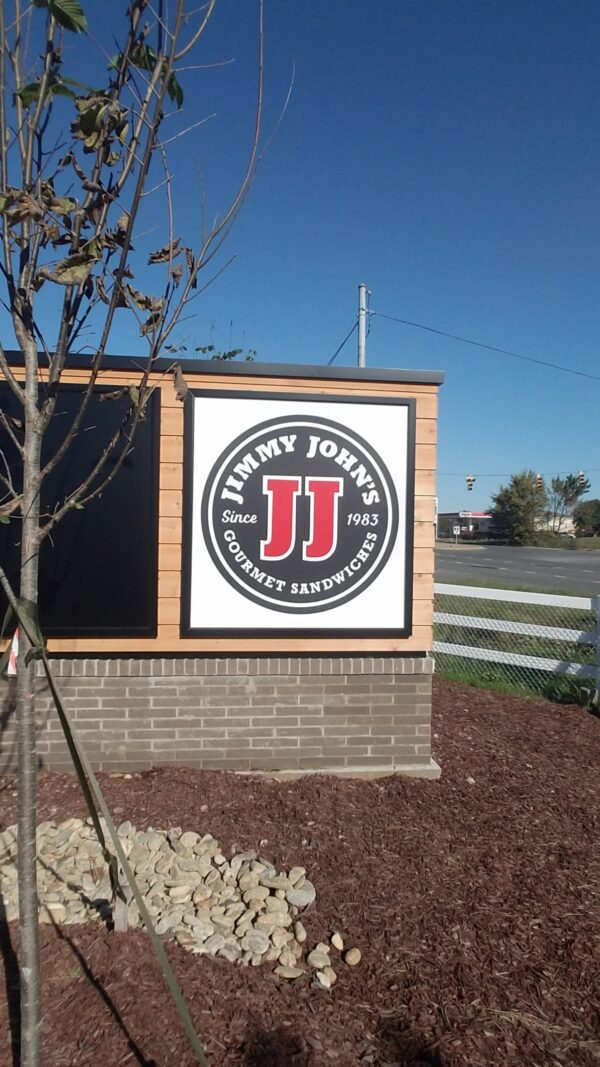 Panel for (existing) Monument Sign - Jimmy John's