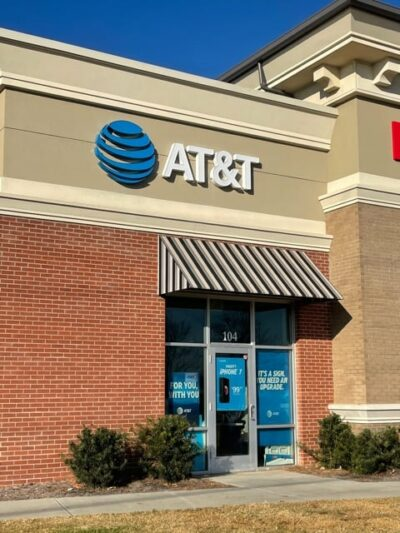 Channel Letter Sign - AT&T Store of Charlotte