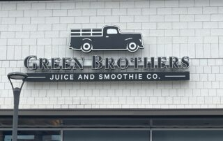 Green Brothers Juice & Smoothie Company - Channel Letter Sign