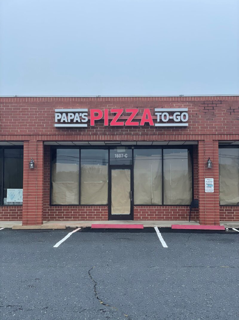 Papa's Pizza - Channel Letter Sign