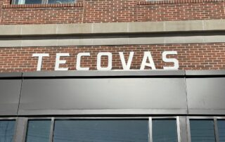 [Install Only] LED Lit Aluminum Letters for Tecovas of Charlotte