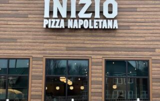Channel Letter Sign for Inizio Pizza
