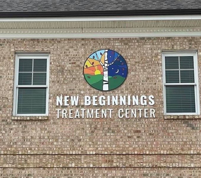New Beginnings Treatment Center - Channel Letters and Logo