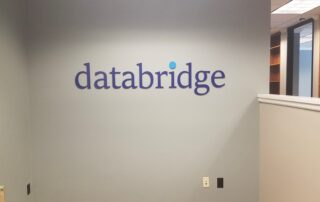 Custom Painted Acrylic Logo Sign – Databridge of Charlotte