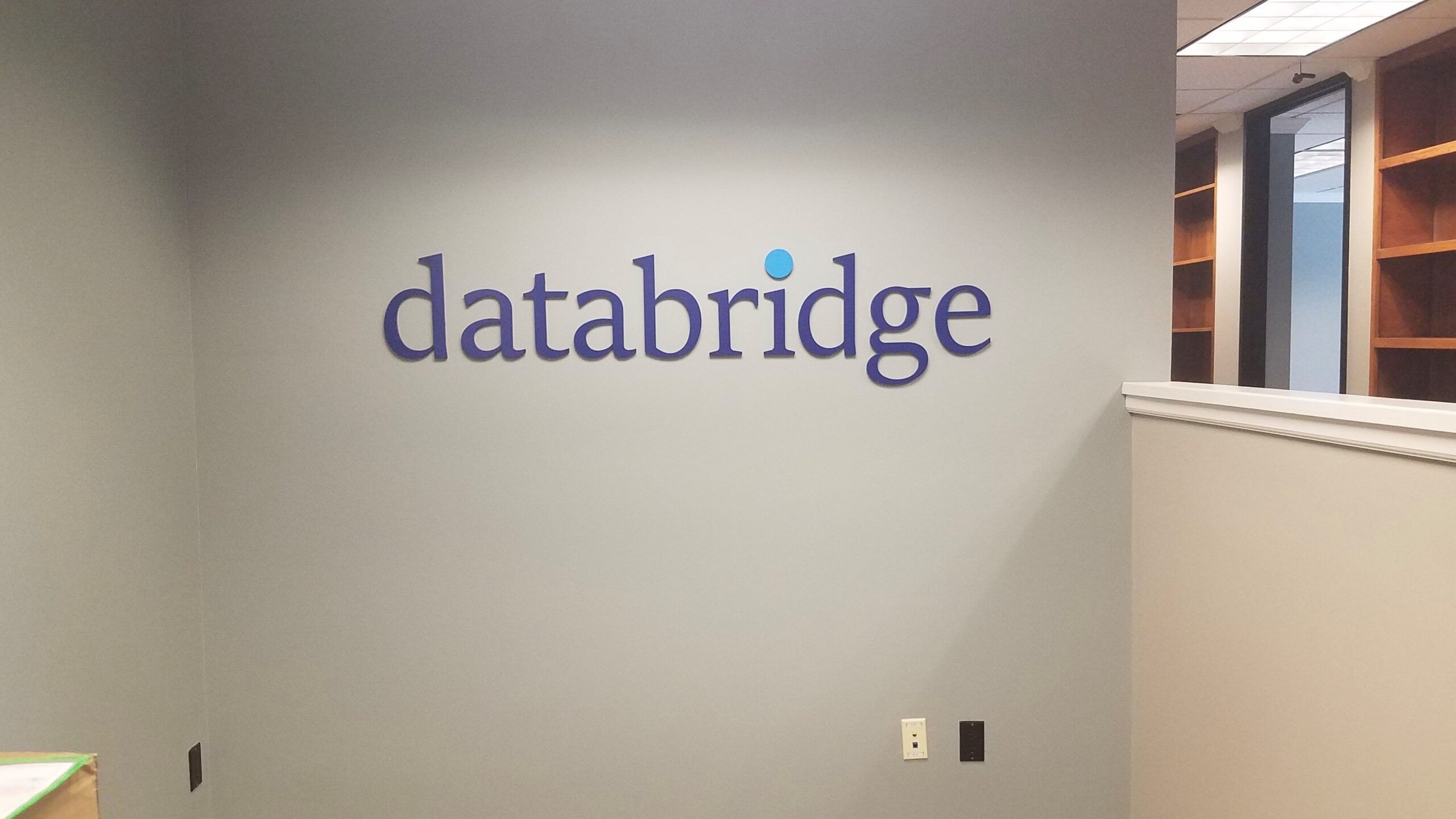 Custom Painted Acrylic Logo Sign – Databridge of Charlotte