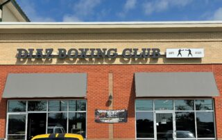 Channel Letter Sign for Diaz Boxing Club of Indian Trail, NC