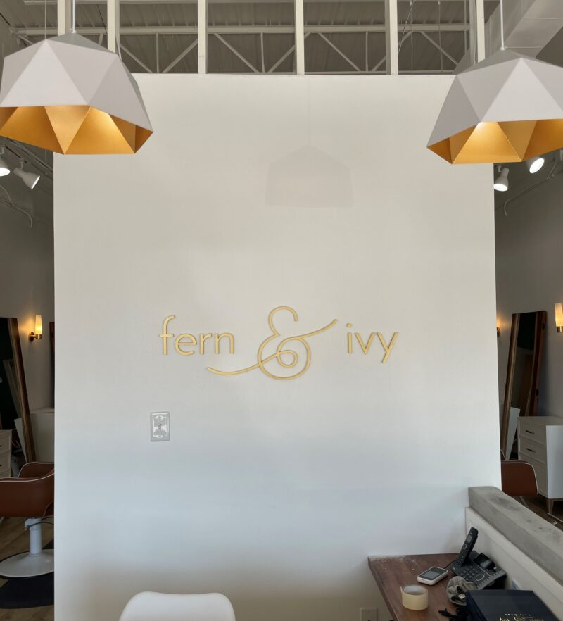 Fern & Ivy Interior Feature Wall Sign